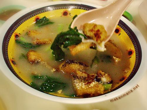 Bihun Sup Kepala Ikan
