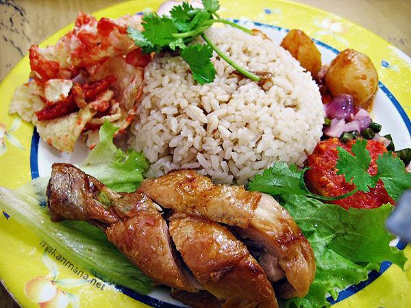 nasi ayam istimewa