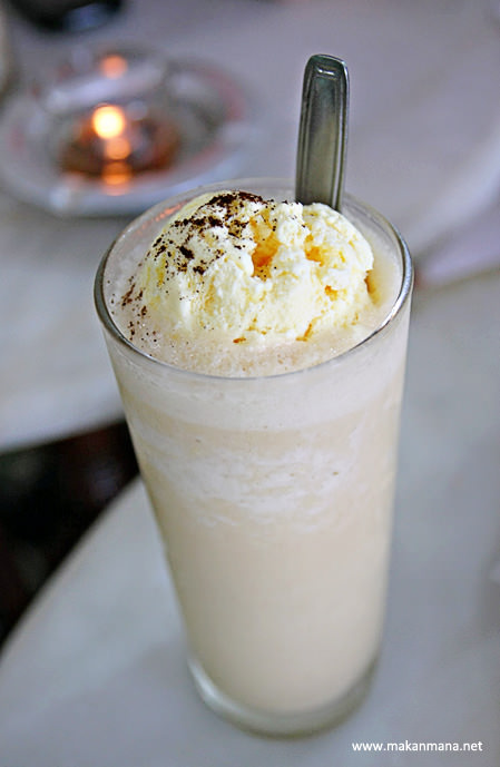 kopi durian float