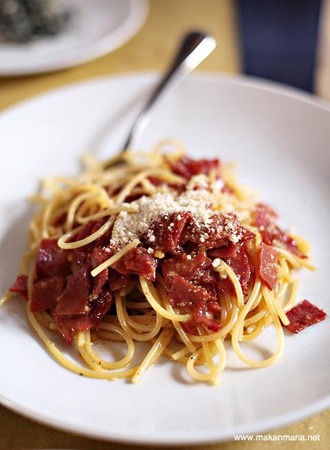 Spaghetti Carbonara Rivisitata