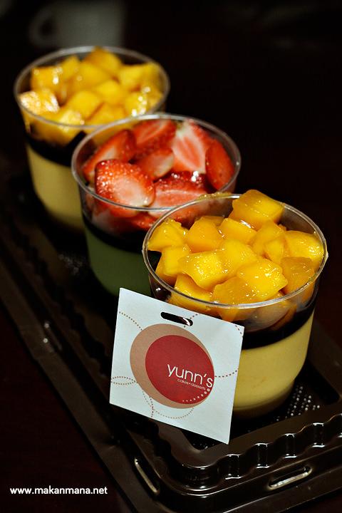 Mango & Green Tea Pannacota -  IDR 30.000/cup