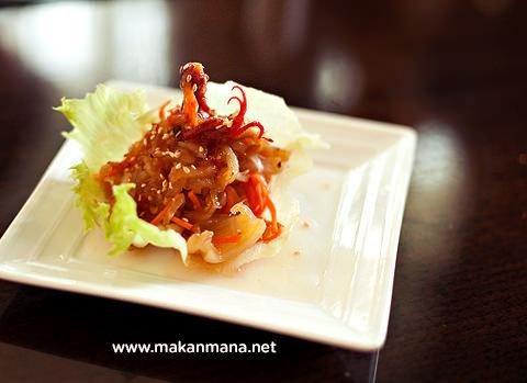 Aryaduta Dimsum gurita salad ubur ubur
