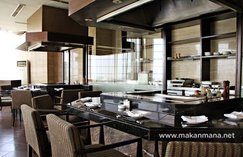 aryaduta the kitchen teppanyaki bar