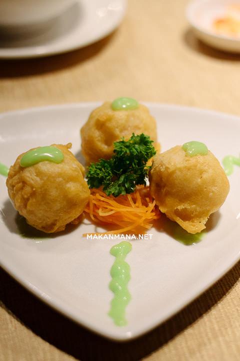scallop udang saos wasabi