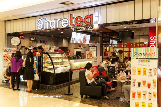interior share tea medan