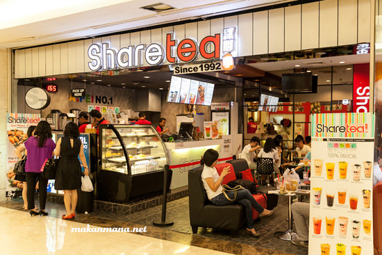 interior share tea medan