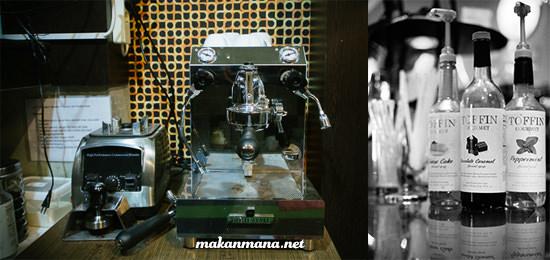 coffee machine medan