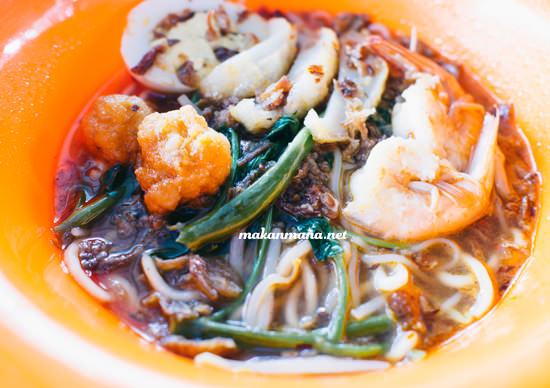 malaysian prawn noodle