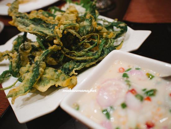 yum pak boong krob - 40rb