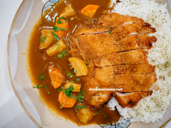 chicken curry rice idr 50 The all new Renjiro Sushi, Multatuli