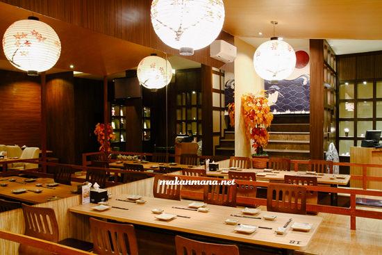lantai 2 renjiro multatuli The all new Renjiro Sushi, Multatuli