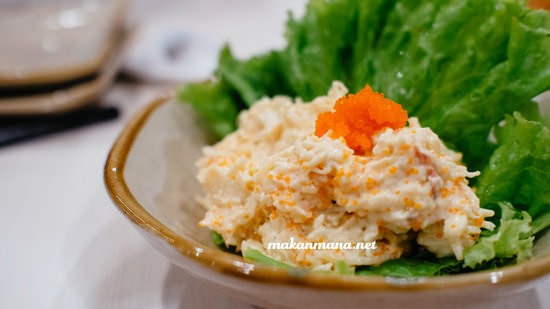 lobster salad chinmi idr 35 The all new Renjiro Sushi, Multatuli