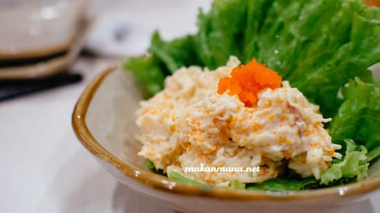 lobster salad chinmi idr 35 The all new Renjiro Sushi, Multatuli
