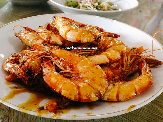 udang mentega RM Ingah, Pantai Cermin, Perbaungan
