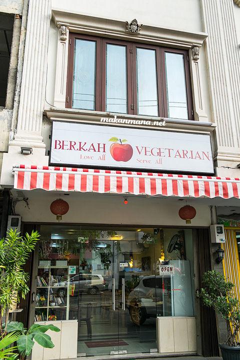Berkah Vegetarian alamat Berkah Vegetarian, Jalan Serdang Ujung