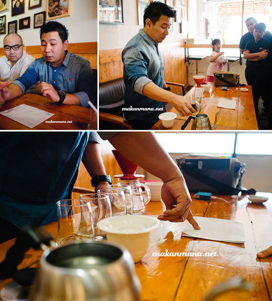 Ronald prasanto workshop Coffee knowledge with Ronald Prasanto, Pilastro