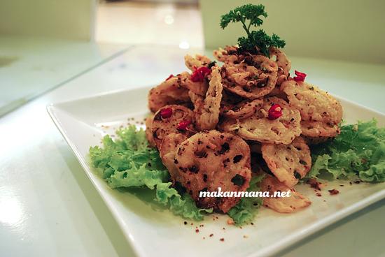 Lotus Goreng 1st Green Resto Medan 1st Green Resto Vegetarian