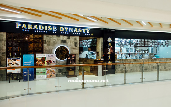 paradise dynasty centre point Paradise Dynasty, Centre Point Mall
