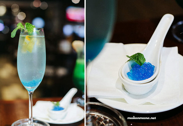blue caviar cocktail