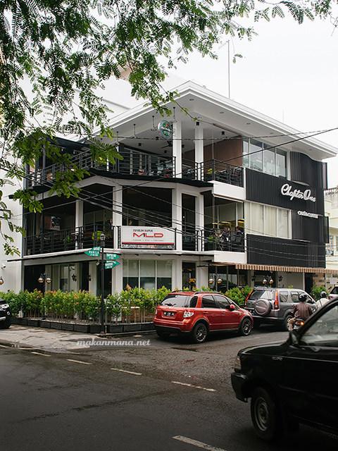 Lokasi Chapter One cafe