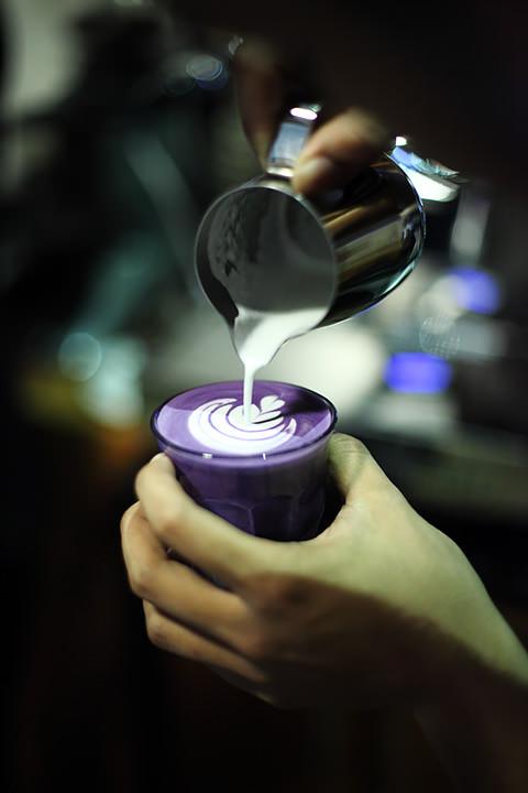 Peluncuran produk baru, Taro Latte
