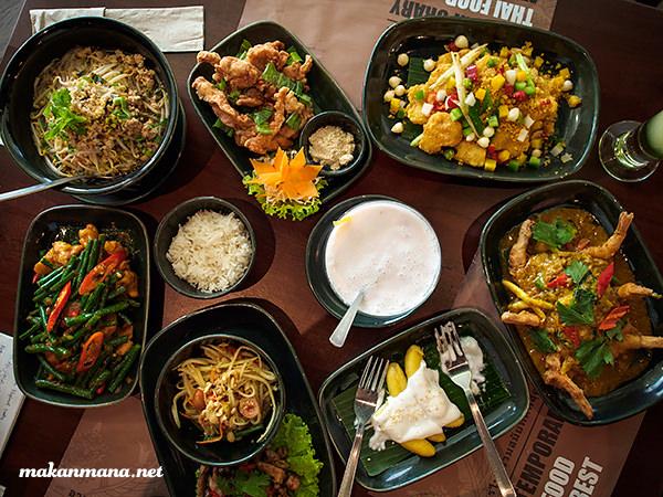 thai restaurant white elephant medan