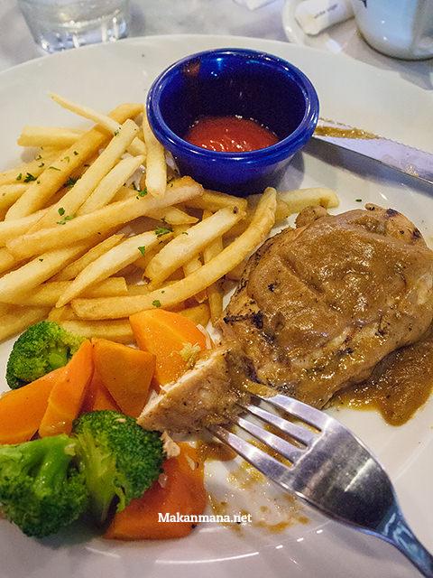 Just average grilled chicken steak