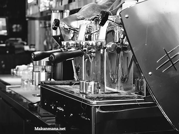 espresso machine medan