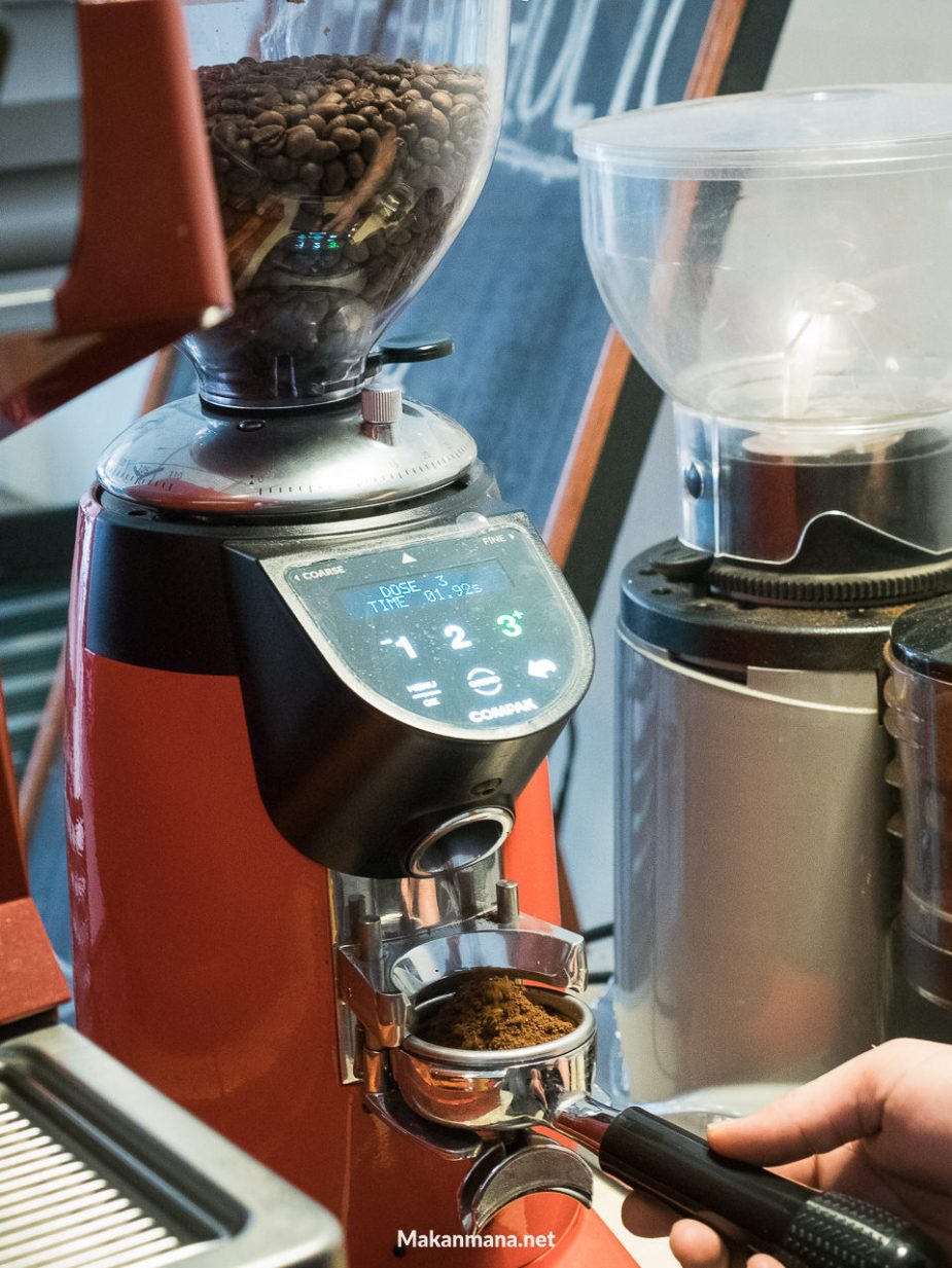 coffee dosing