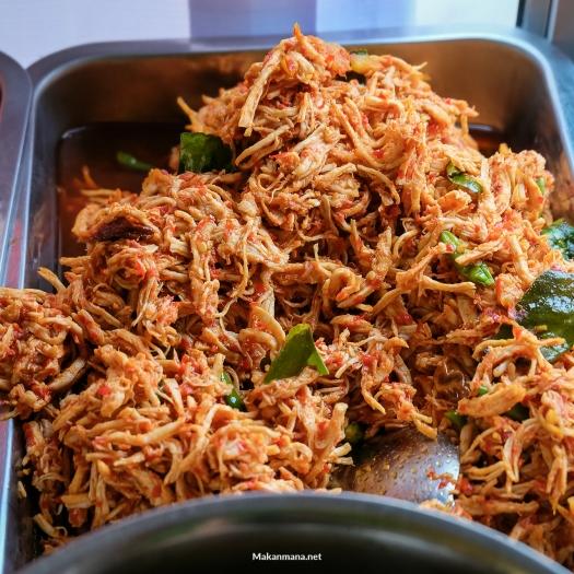 Ayam Suwir Nasi Bali