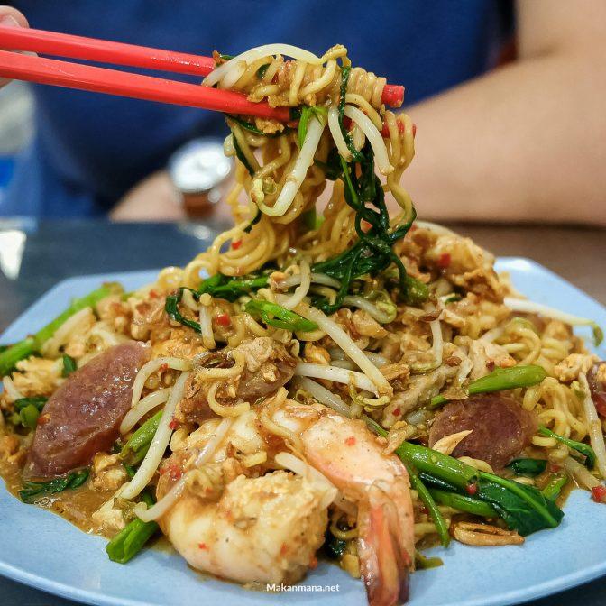 Chinese Food Asen, salah satu rumah makan berkategori MurMer di Medan.