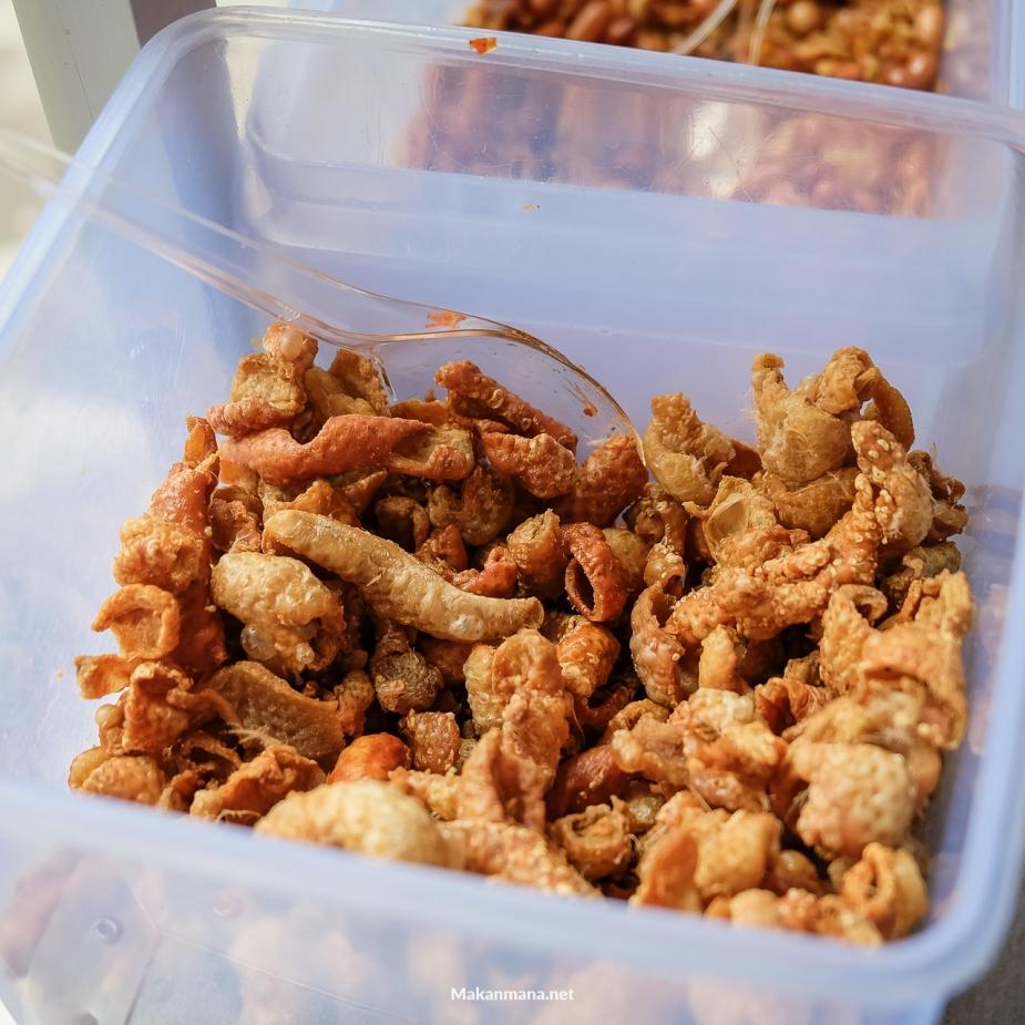 Kulit Ayam Nasi Bali