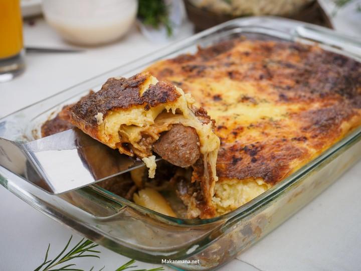 truffle lasagna