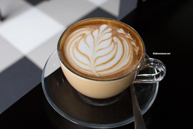 Quite good coffee latte
