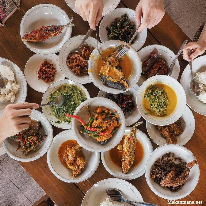 Rumah Makan Padang Lawas, hidangan khas Mandailing