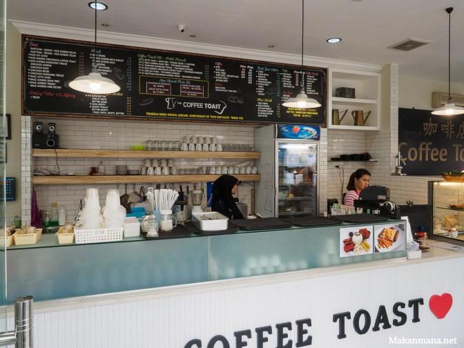 Early impression: Coffee Toast, jalan Palangkaraya