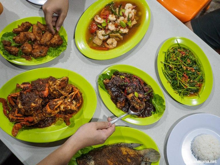 makanan tulek seafood