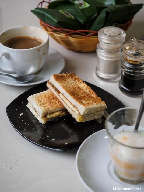 roti bakar kopi toast