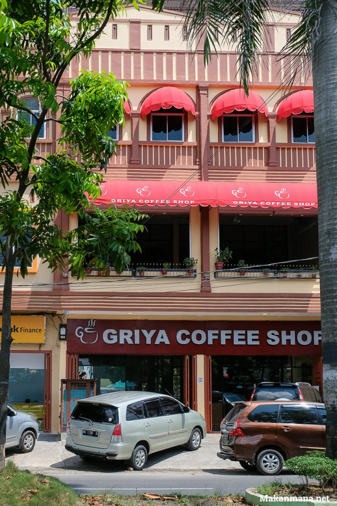 Griya Coffee Shop, a 6 month old coffee shop in town.