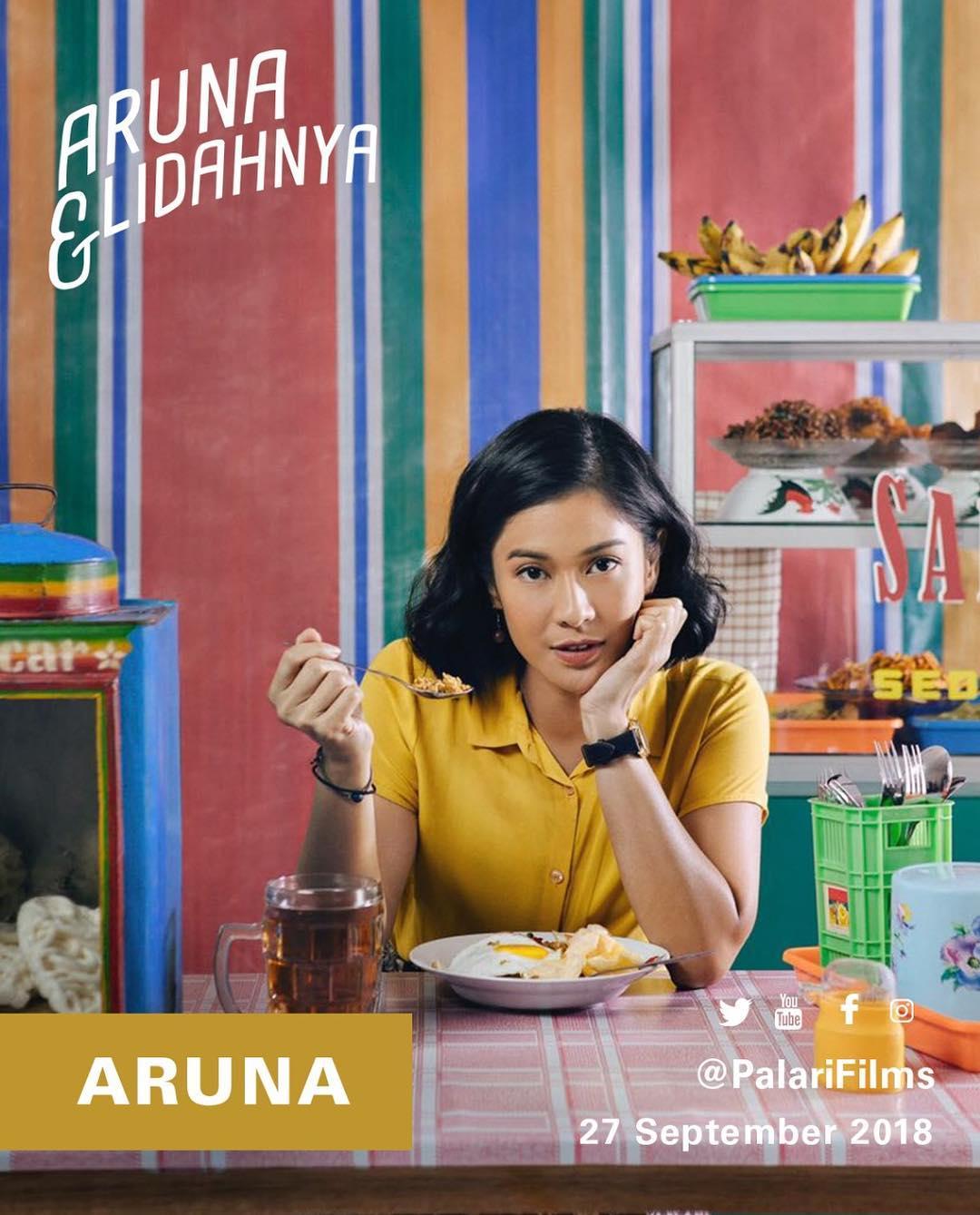 Cover Aruna dan Lidahnya
